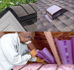 Attic Insulation and Roof Ventilation