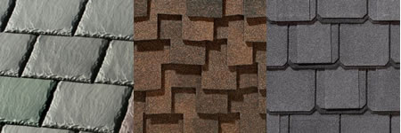 Architectural Shingles Simulate Natural Products Like Stone, Wood and Slate.