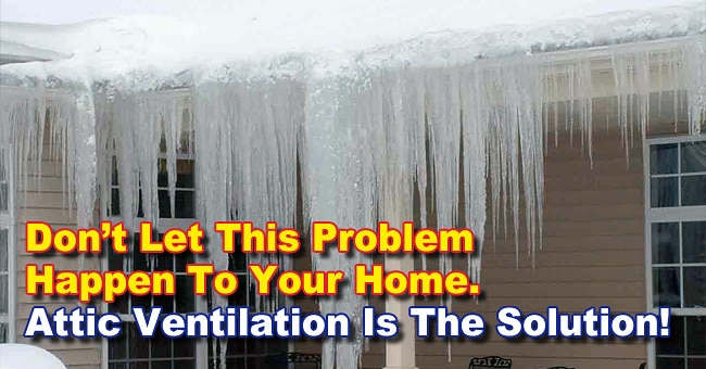 Preventing Ice Dams With Attic Insulation