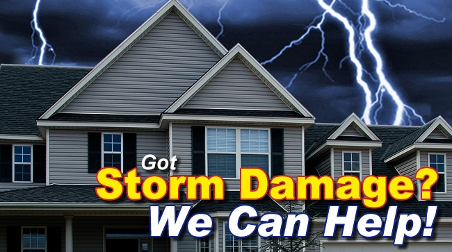 Storm Damage Repair in Ham Lake MN