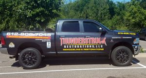 Thunderstruck Restorations Company Vehicle