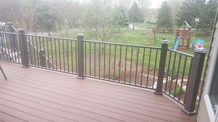 12 x 24 Composite Deck Construction