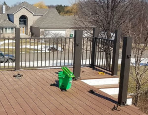 Westbury Aluminum Deck Railings