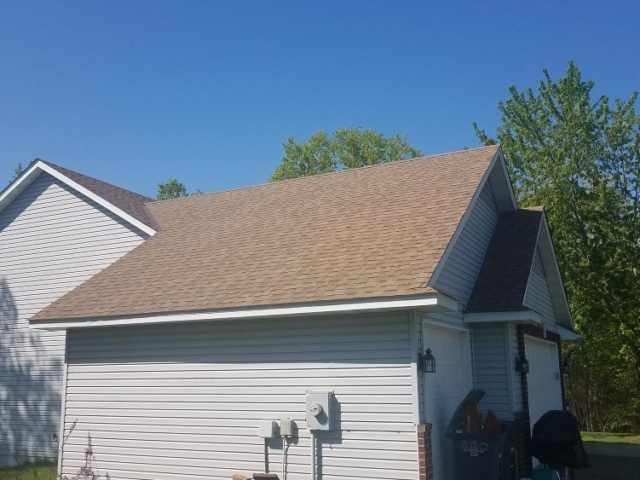 New Asphalt Shingle Roof Installation