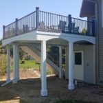 Raised Deck With Custom Archways