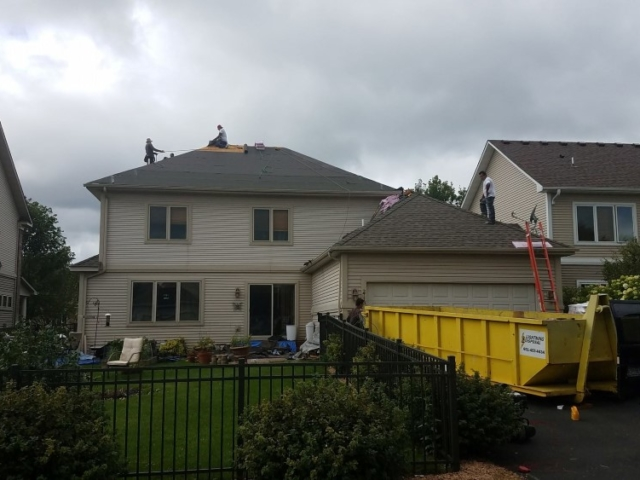 Replacing Roof Due To Storm Damage