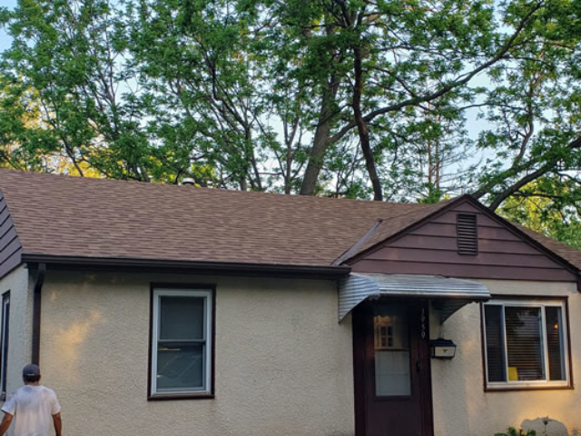 Roof Replacement After Photo