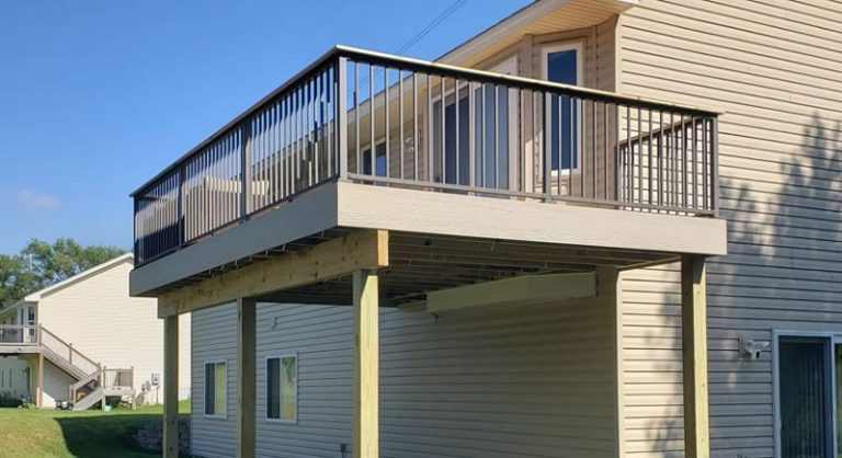 12 x 20 Cedar Deck Built In Andover MN