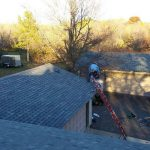 Roof Replacement Project That Was Completed By Thunderstruck Restorations In Andover, Minnesota.