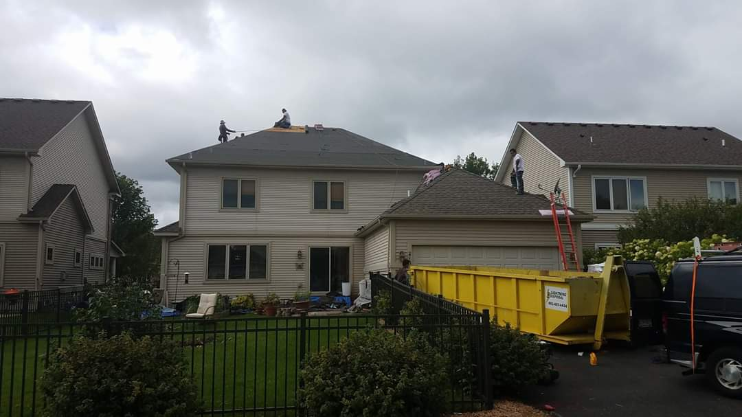 Roof Replacement On A Forest Lake Mn Home