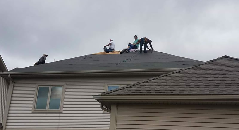 Thunderstruck Restorations Replaced The Roof On This Home.
