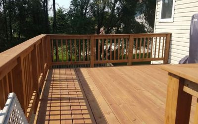 Deck Project in Blaine Minnesota