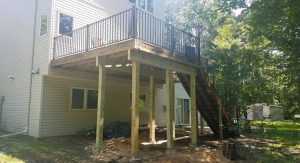 Deck Repair Project In Blaine MN