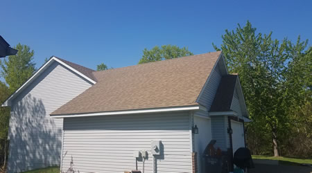 Asphalt Shingle Roofing Replacement and Installation Andover and Ham Lake MN