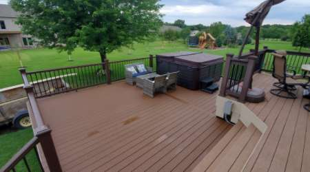 Composite Deck Construction Andover and Ham Lake MN