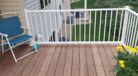 Wood Deck Construction Using Pressure Treated Lumber Andover and Ham Lake MN